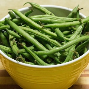 Green beans are a healthy snack for dogs