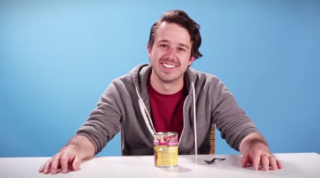Watch as these 4 brave souls try have a taste test on the popular dog food brands. Too Funny!